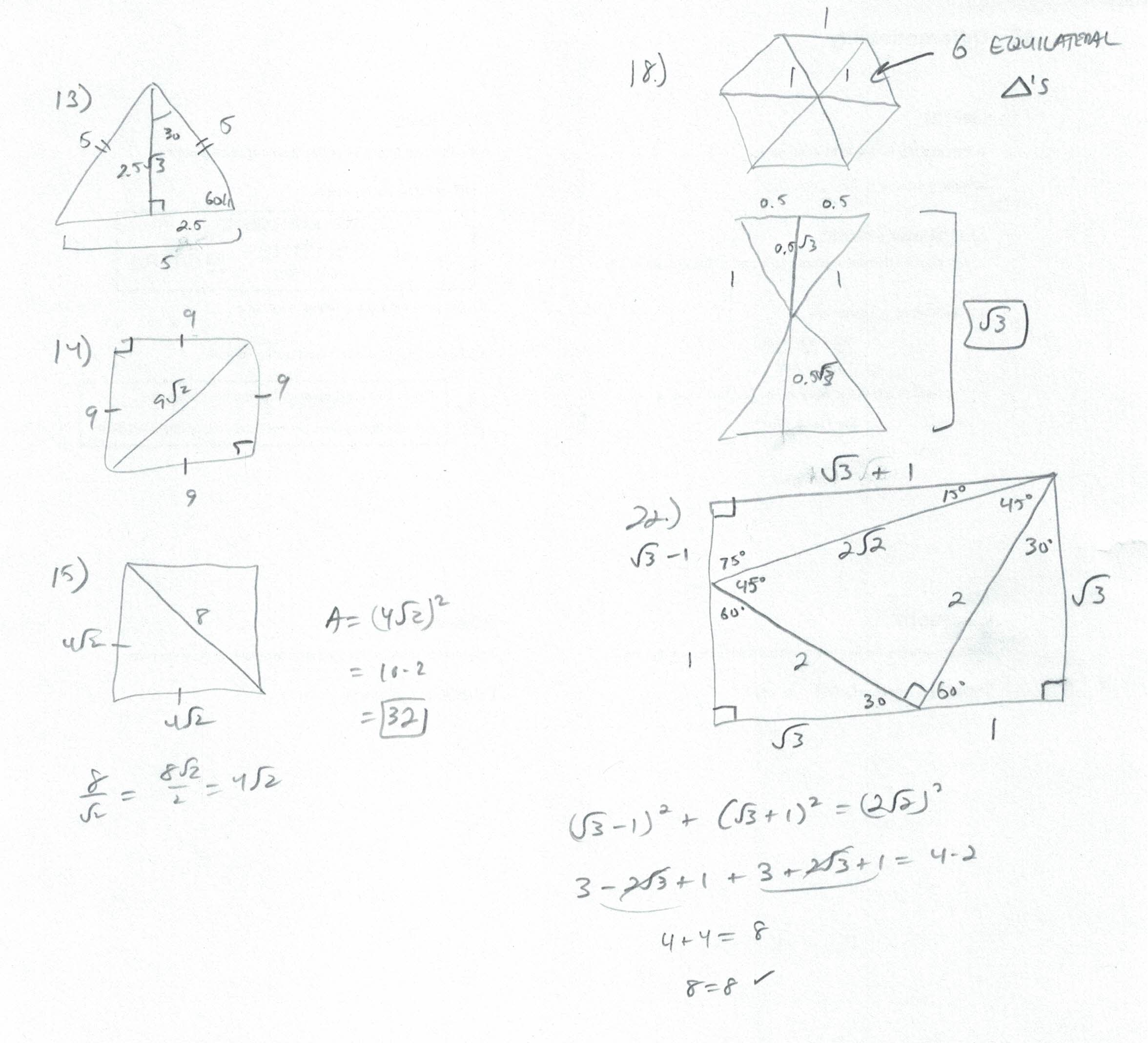 Chapter 09 - Right Triangles - Mr. Urbanc's classroom